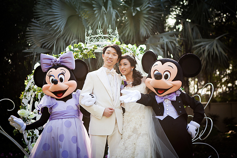 Hong Kong Wedding @ Disneyland & 4 Seasons Hotel