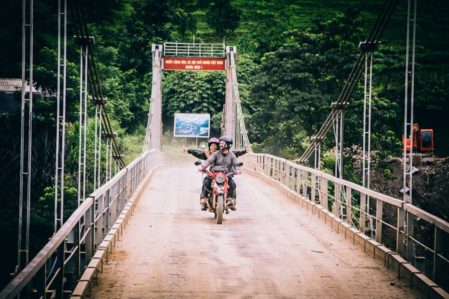 Motorbike Adventure Wedding Vietnam